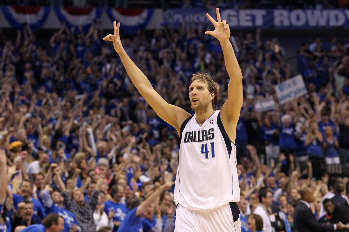 Dirk Nowitzki is the 17th best player of all time according to