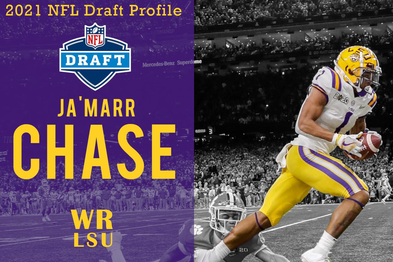 Ja'Marr Chase 2021 NFL Draft Profile Video