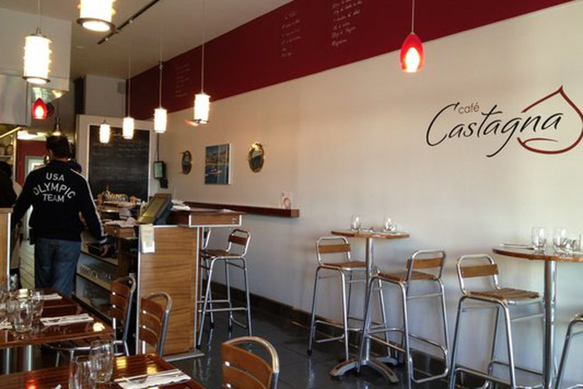 Castagna before the fire; it's more upscale now.