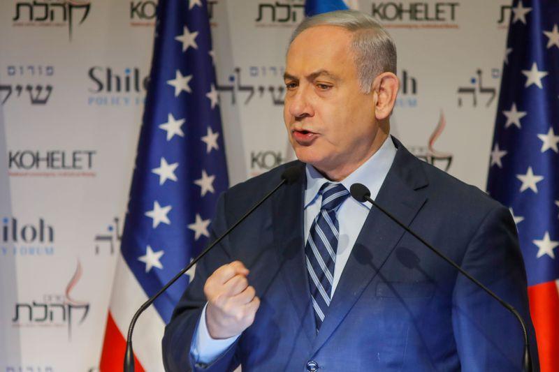 TOPSHOT-ISRAEL-POLITICS-NETANYAHU
