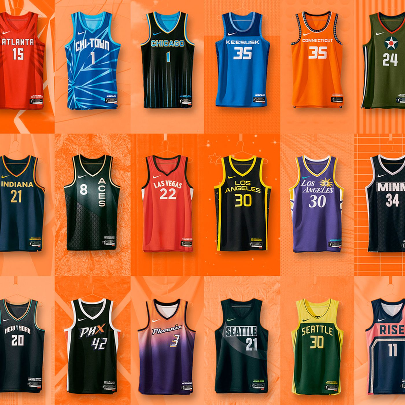 An Exhaustive Power Ranking of the New WNBA Jerseys - The Ringer