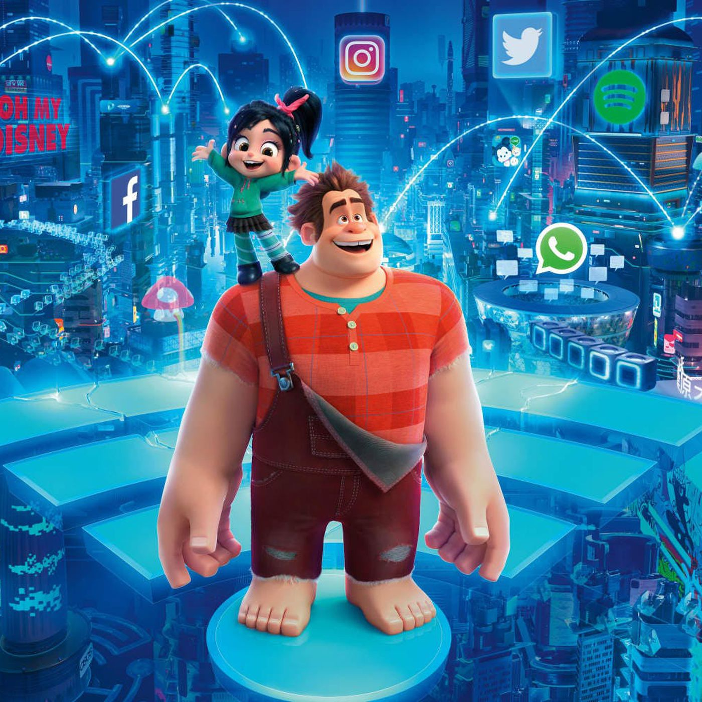 Ralph Breaks the Internet's end-credits scene and Disney