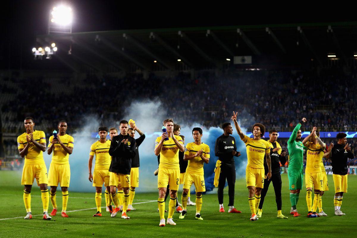 Club Brugge v Borussia Dortmund - UEFA Champions League Group A