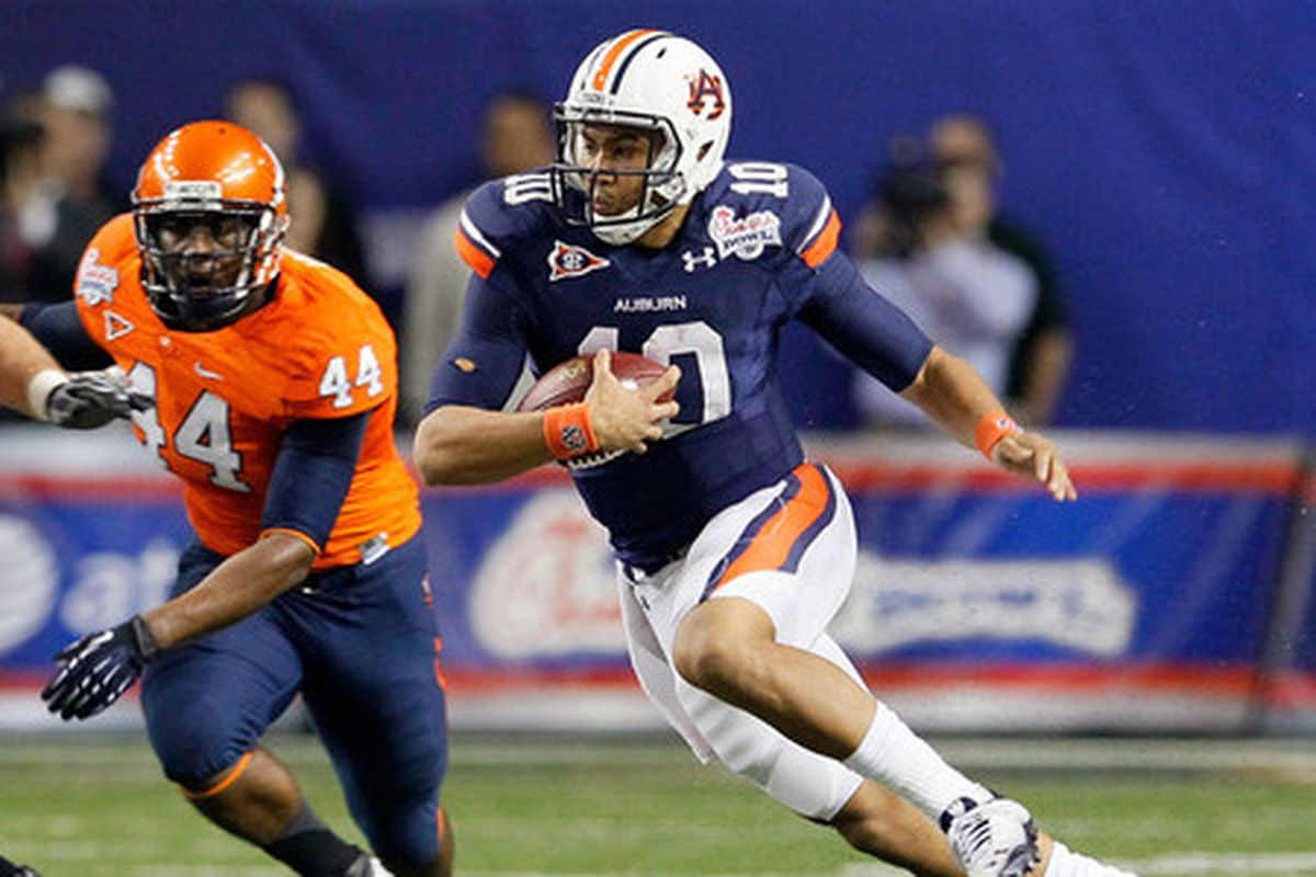 Auburn Quarterback Kiehl Frazier is one of 37 players to ink with the Tigers on National Signing Day after having attended Auburn's annual Big Cat Weekend.