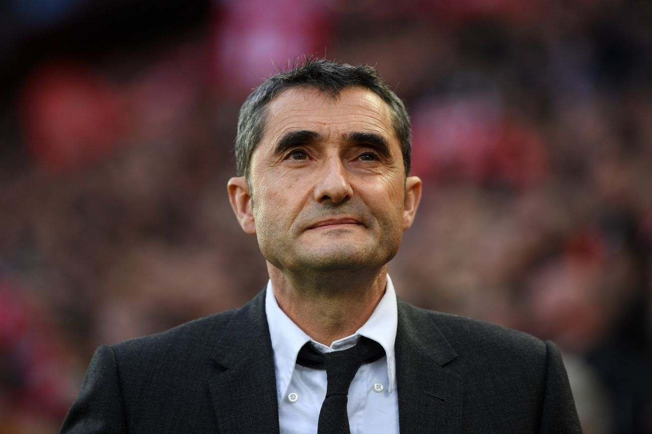 Valverde is not thinking about his Barca future