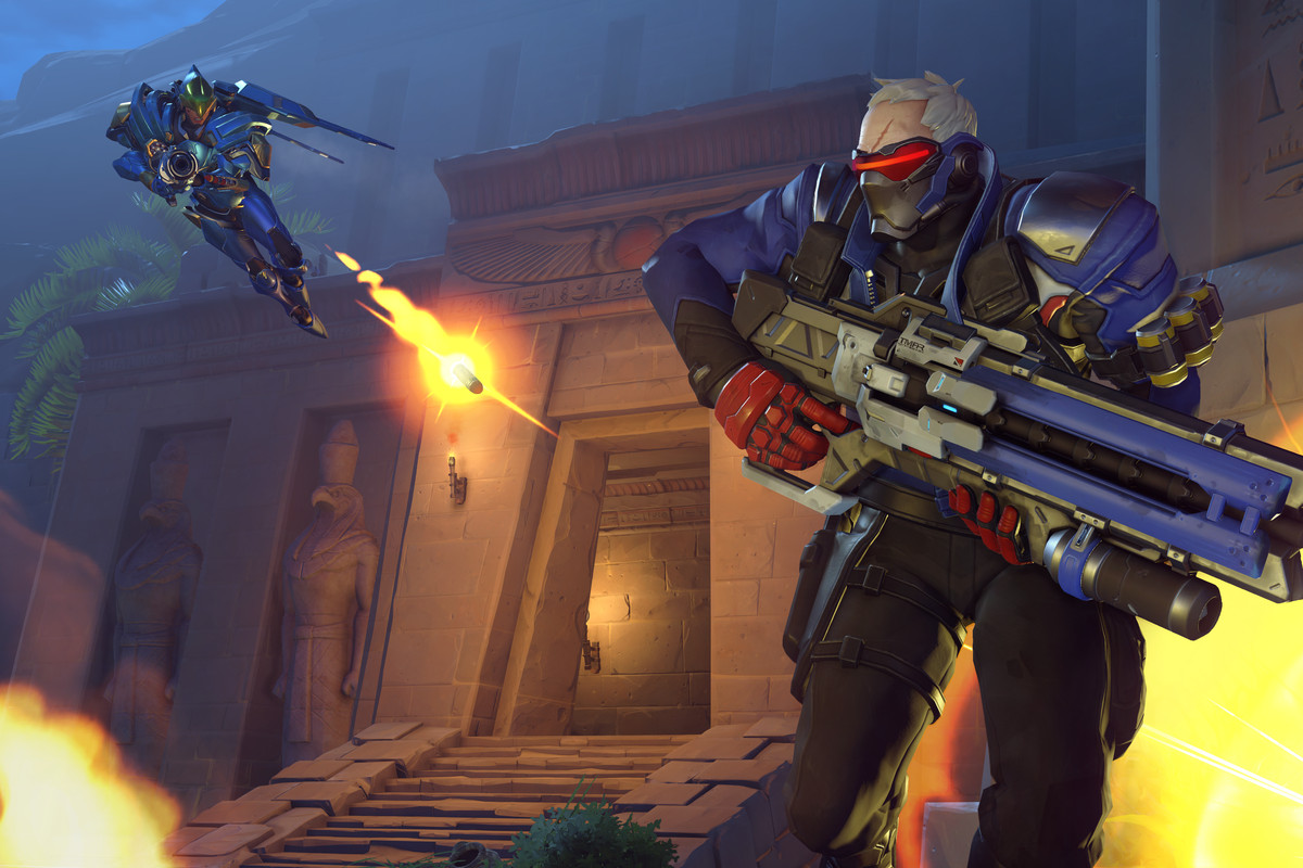 Please report Soldier for not countering Pharah, gg