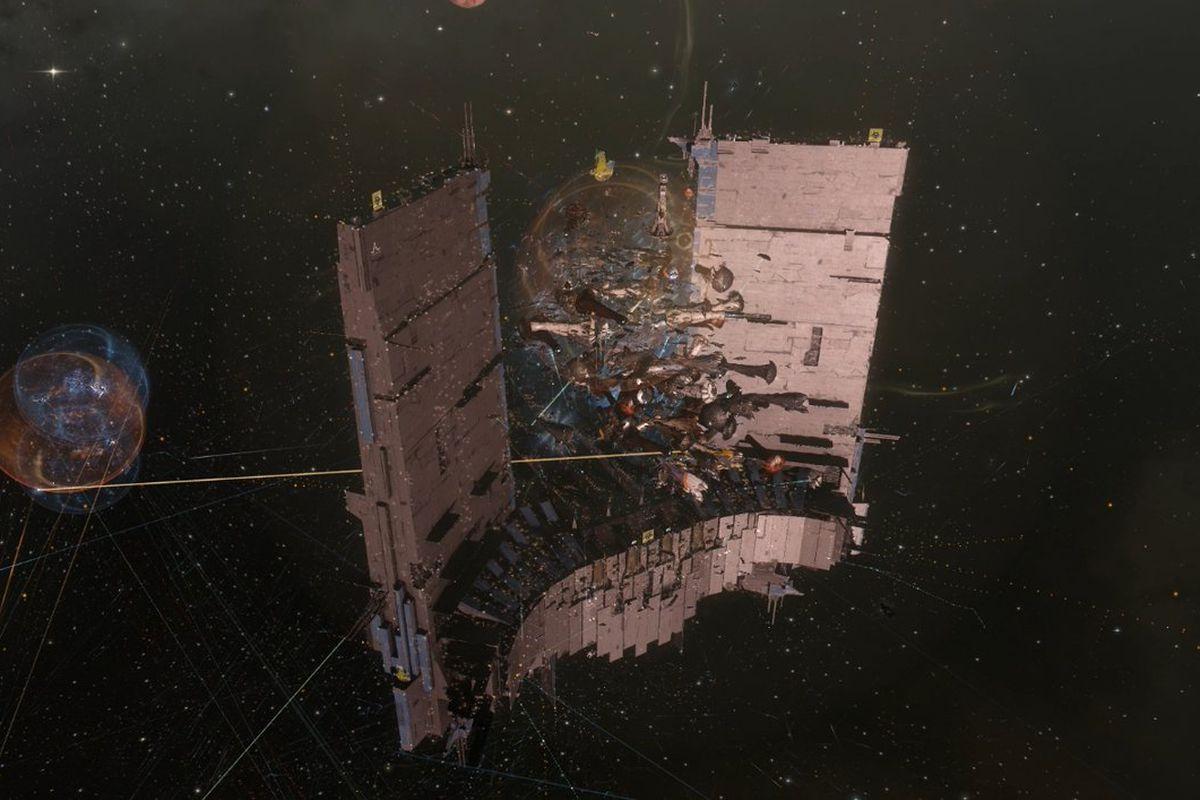 Eve Online's 'million dollar' battle came up a little short