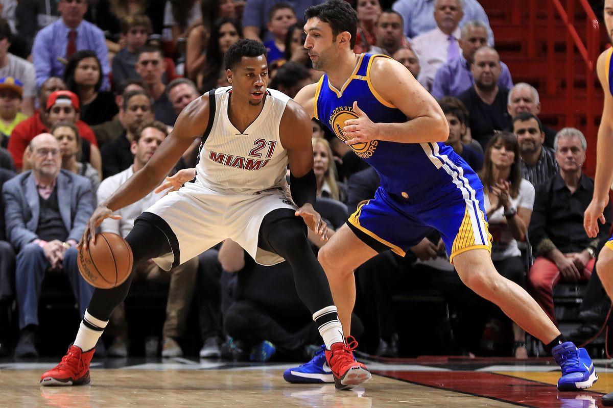 Golden State Warriors v Miami Heat