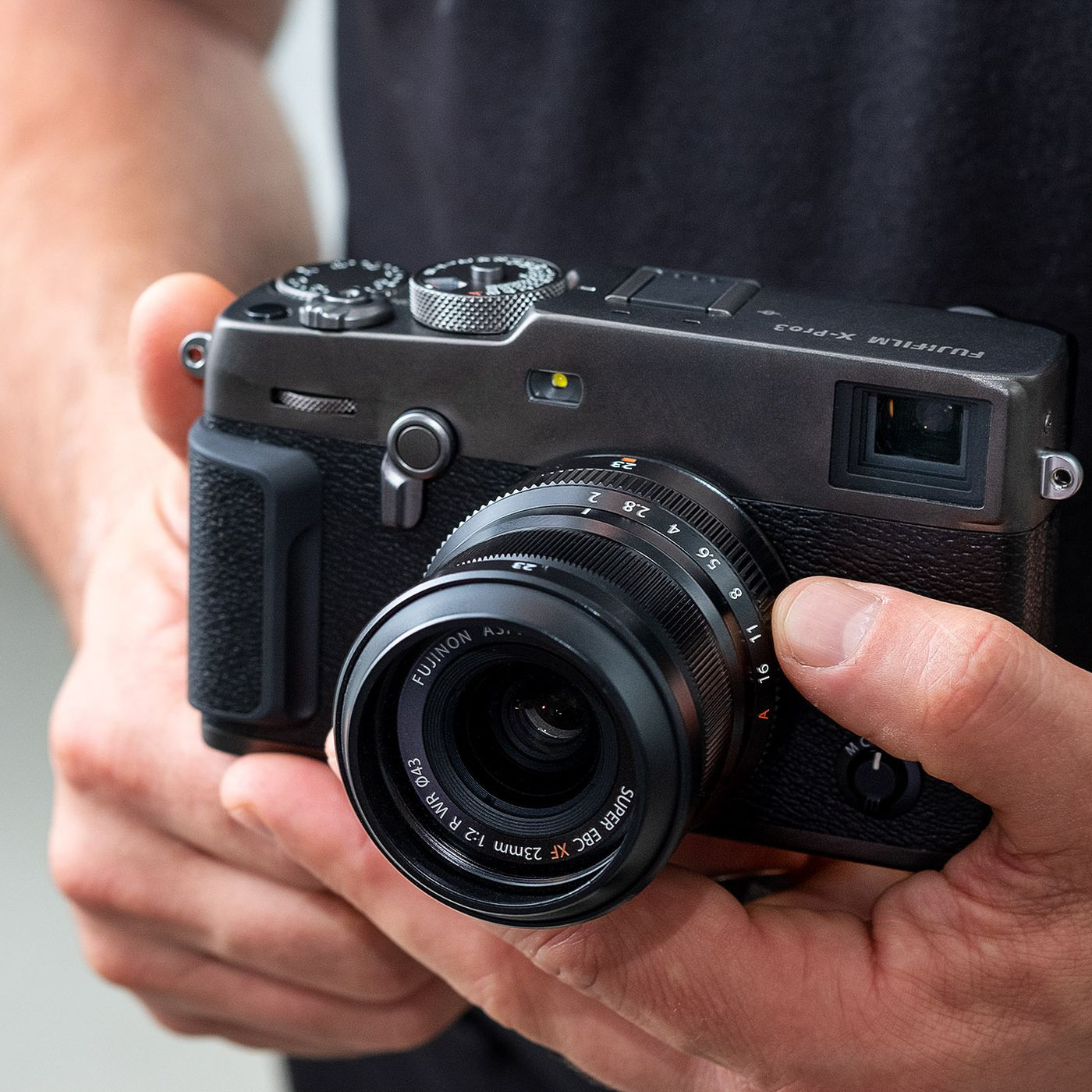 Fujifilm S New X Pro3 Brings Analog Ideas To A Digital