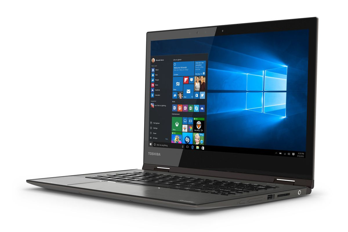 Mossberg Review Of Toshiba S New Thin Light 4k Laptop