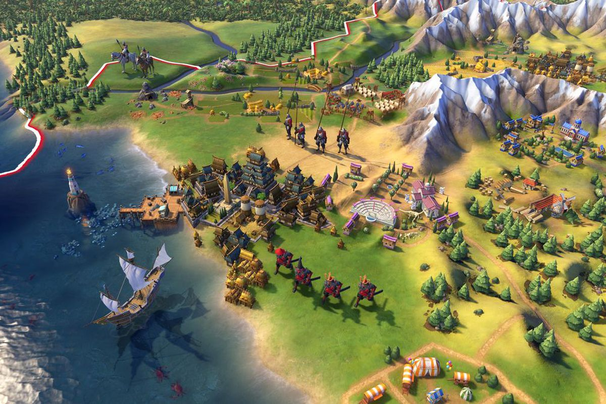 Civilization 6 expansion packs are free on iPhone and iPad
