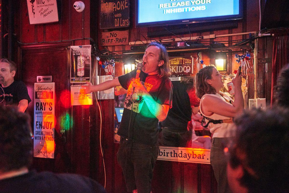 Kevin Sullivan sings