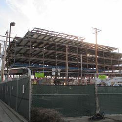 Plaza building, from Seminary -