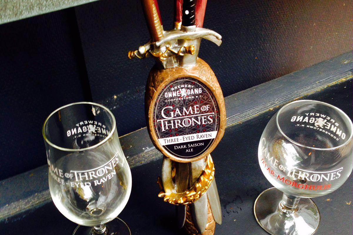 Brewery Ommegang's Game of Thrones' Three-Eye Raven beer