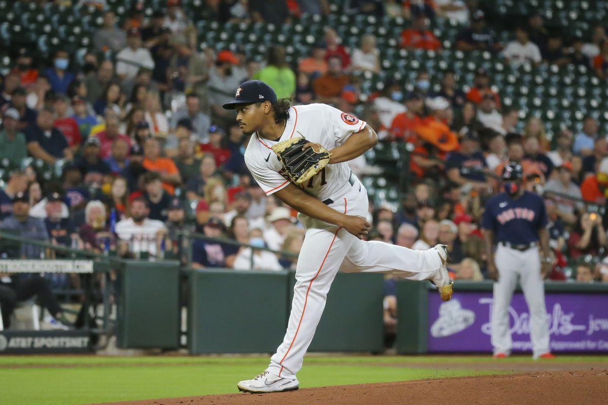 MLB: JUN 01 Red Sox at Astros
