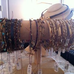 Indian-influenced bangles ranging from $240 to $800+ each.