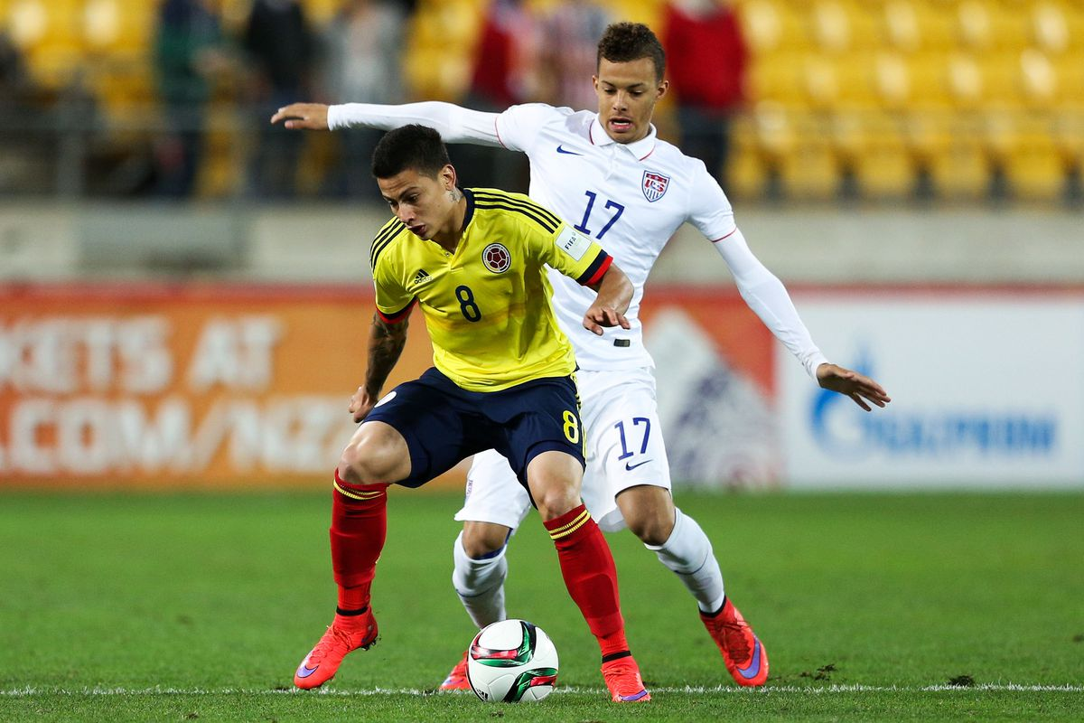 USA v Colombia: Round of 16 - FIFA U-20 World Cup New Zealand 2015