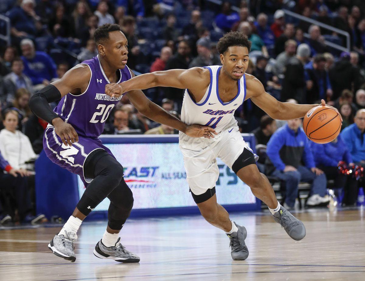NCAA Basketball: Northwestern at DePaul