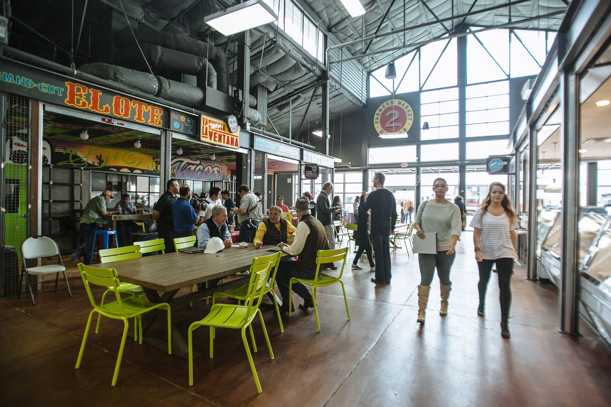 Food Halls, The Country's Biggest Food Trend, Are Finally ...