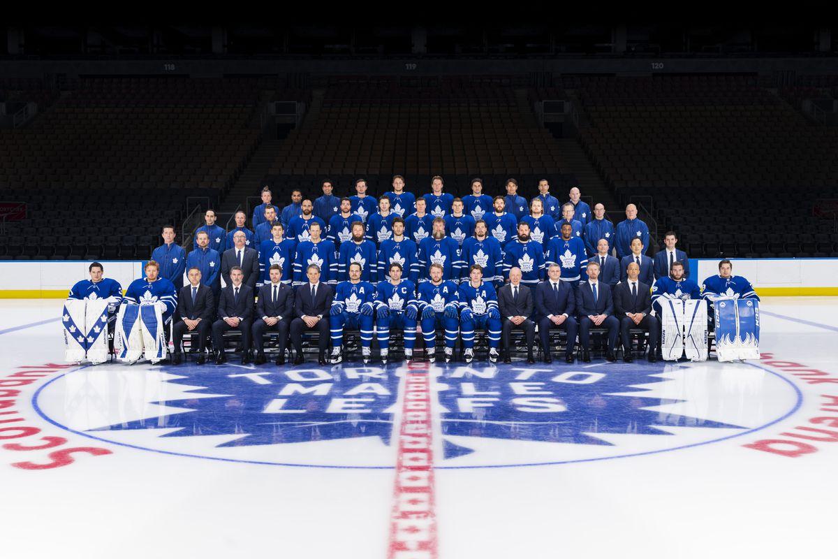 Toronto Maple Leafs NHL Team Photo