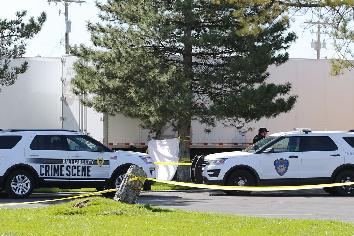 woman found dead in parking lot died of blunt force trauma police say deseret news woman found dead in parking lot died of