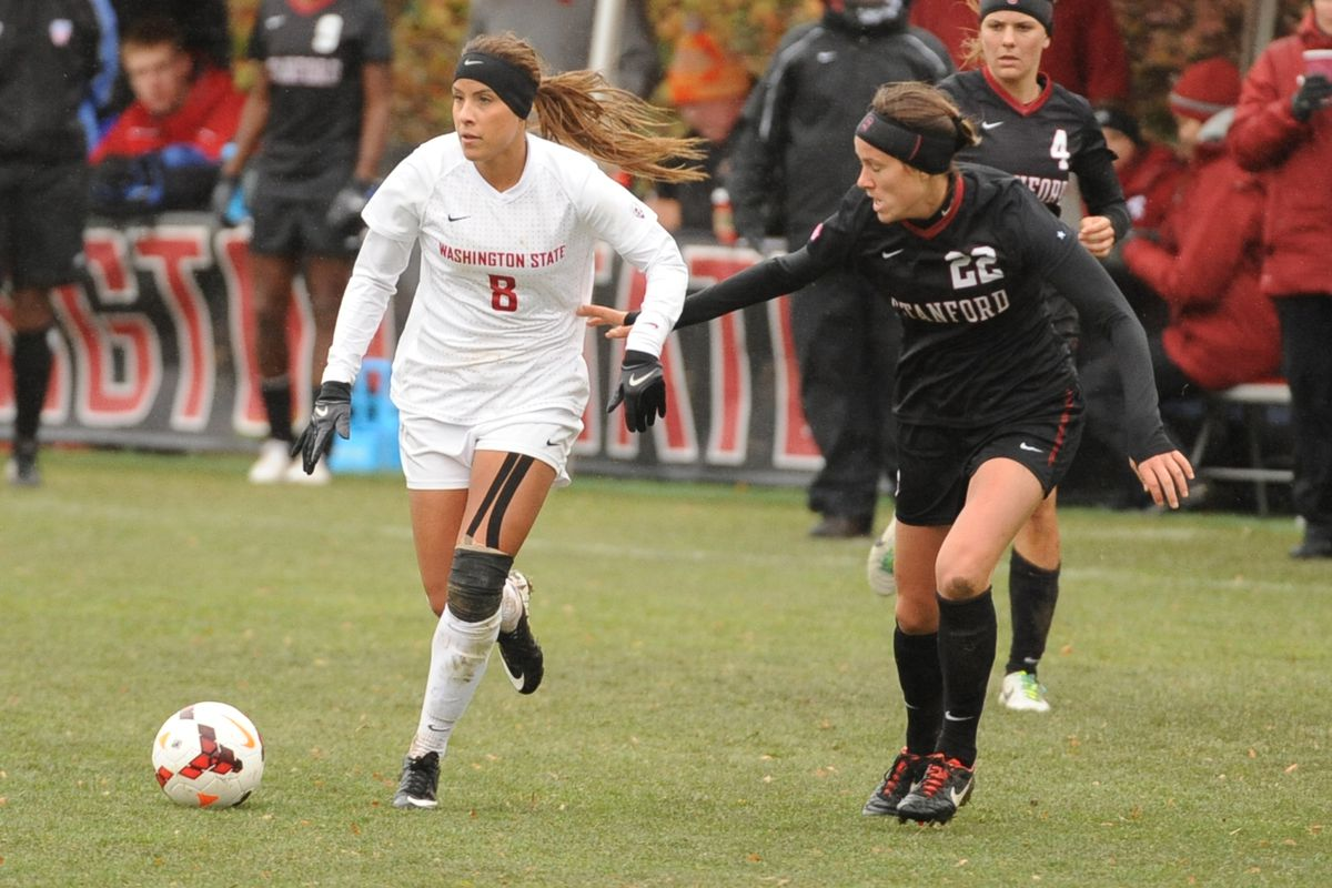 Pac-12 player of the year Micaela Castain went out early with an injury, hampering the WSU attack