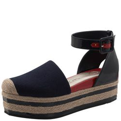 <a href= http://www.payless.com/store/product/detail.jsp;jsessionid=029A09A4552495C7917191C3424D13E3.pss-app-02-app1?catId=cat10376&subCatId=&skuId=093570110&productId=71150&lotId=093570&category=&catdisplayName=Brands>Espawind Flatform Sandal</a>, Was $5