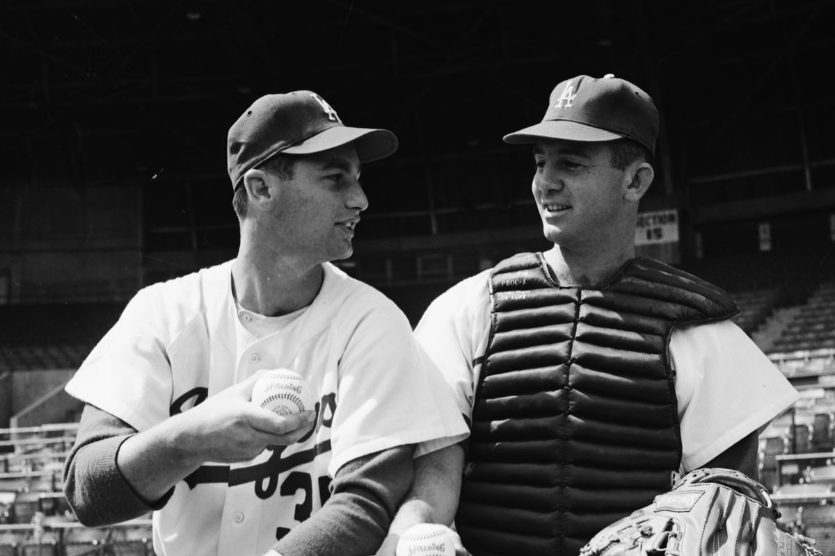 Baseball — Dodgers, 1958