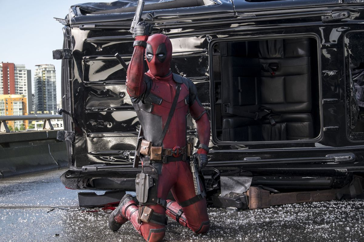 Deadpool gets by on his attitude, an attitude that propelled him to break box office records.