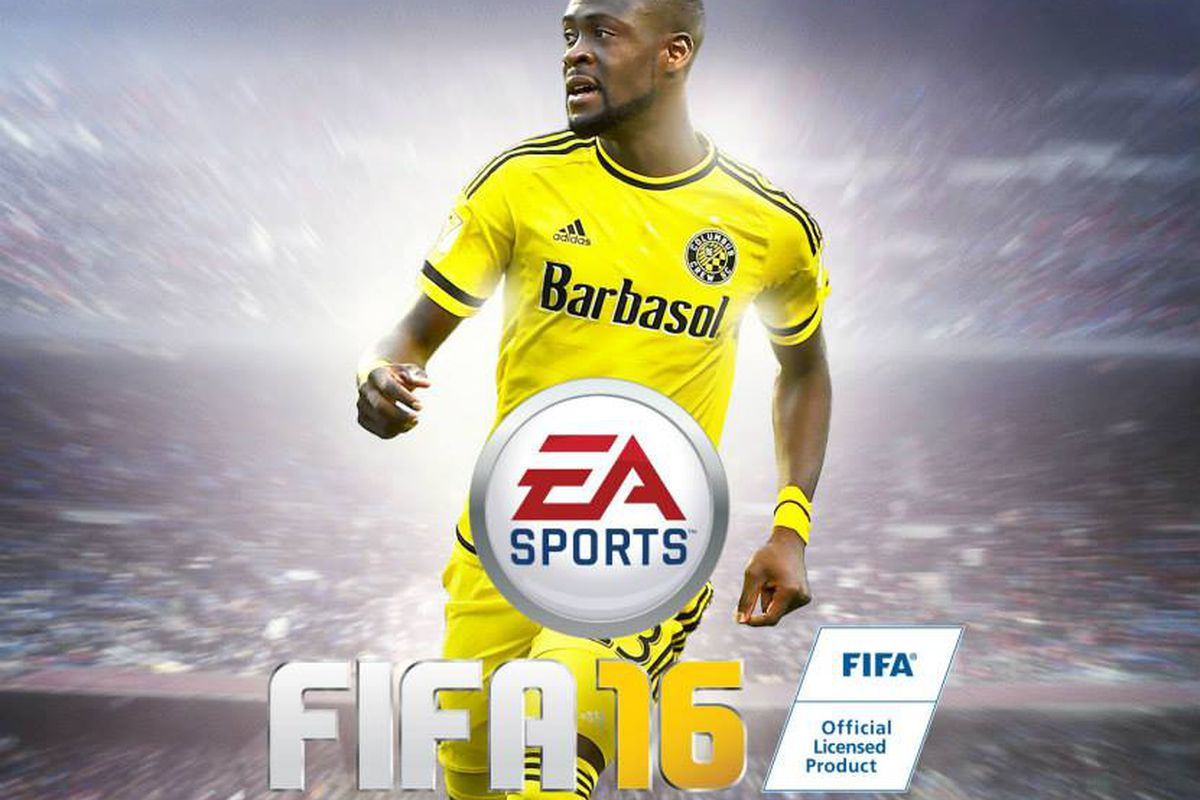 MLS released customized FIFA 16 covers on Tuesday, with one featuring Columbus' Kei Kamara.