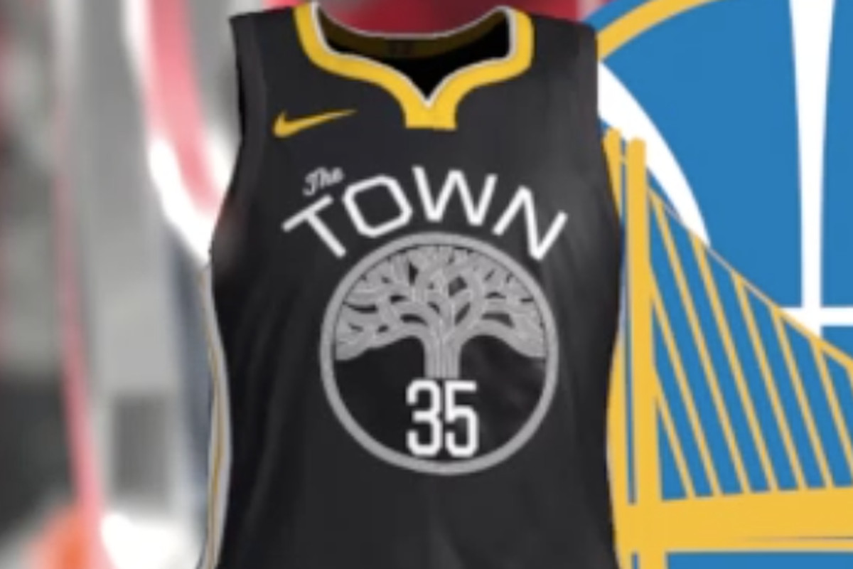 "6a4ffed5b75 Warriors ""The Town"" alternate jersey is leaked"
