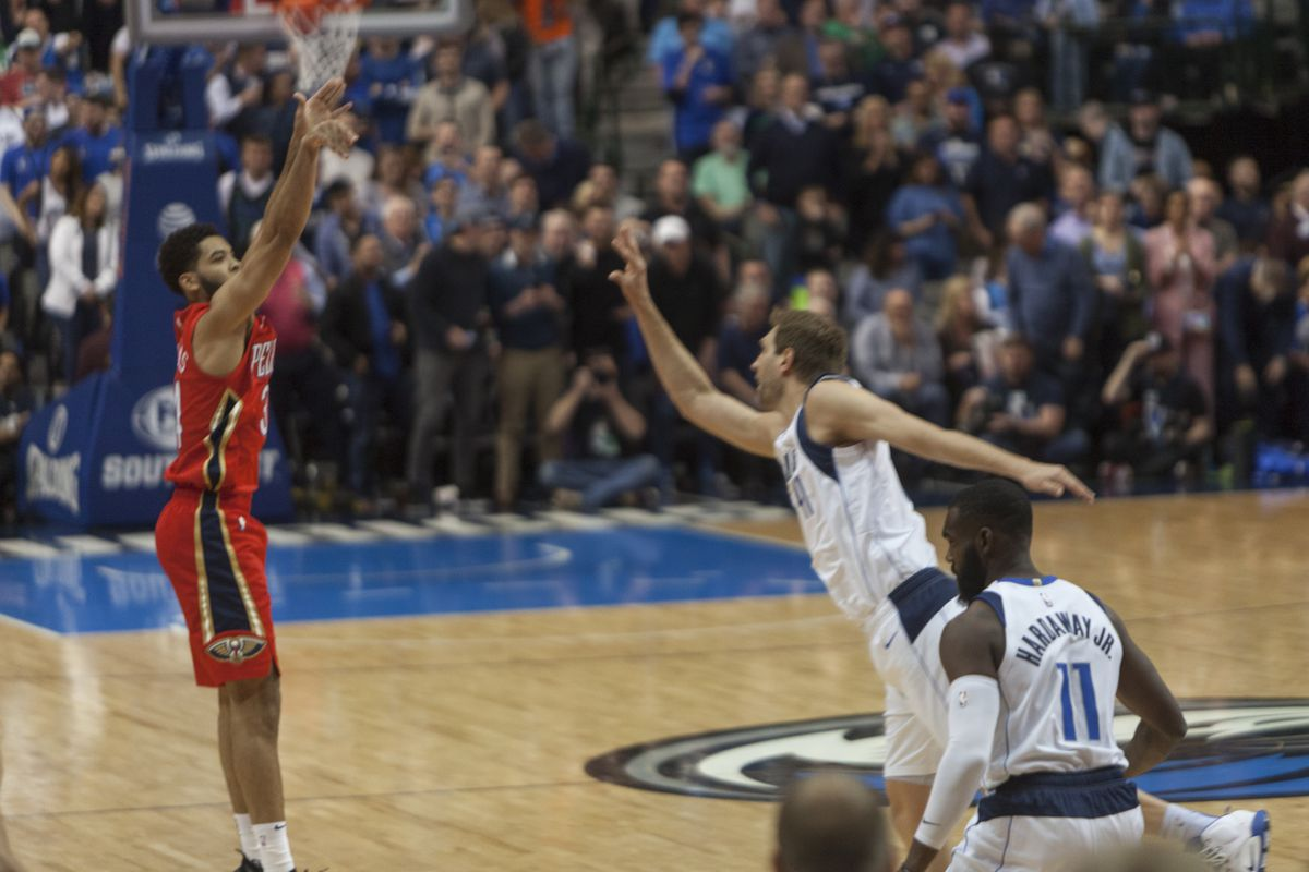 New Orleans Pelicans at Dallas Mavericks | Dallas, TX | March 18, 2019