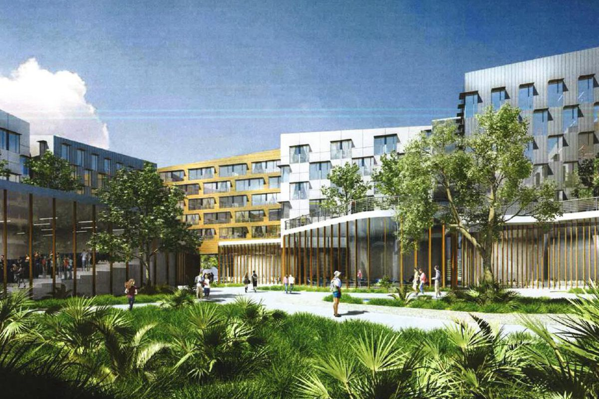 University of Miami proposes massive $100M student housing ...