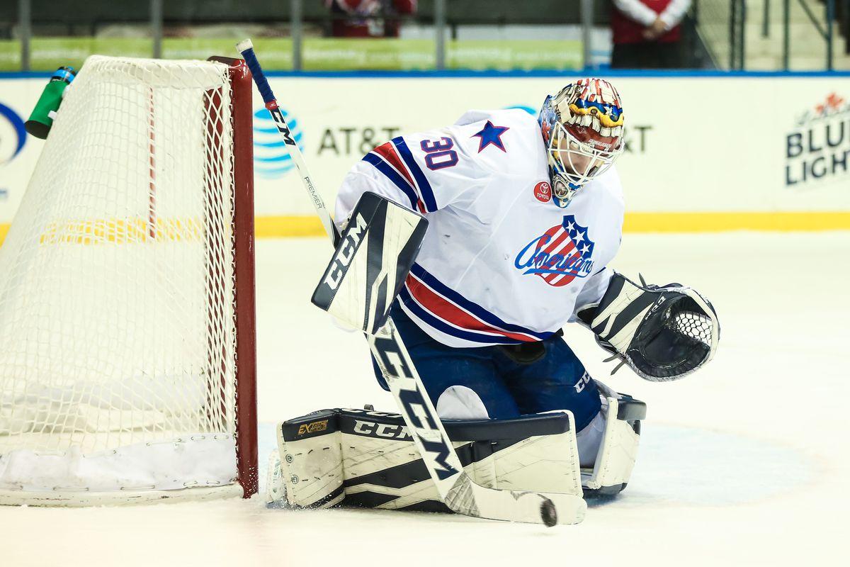 AHL: DEC 13 Utica Comets at Rochester Americans Americans