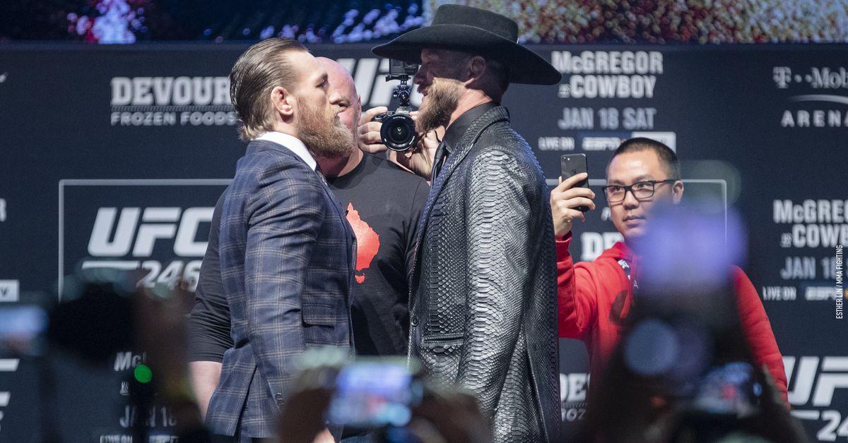 UFC 246 start time, TV schedule for Conor McGregor vs. Donald Cerrone - MMA Fighting