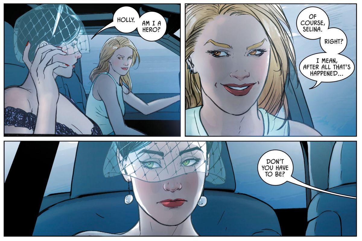 辩论蝙蝠侠的婚礼扭曲,以及接下来的50个问题可能会持有什么