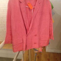Linen blazer, $25