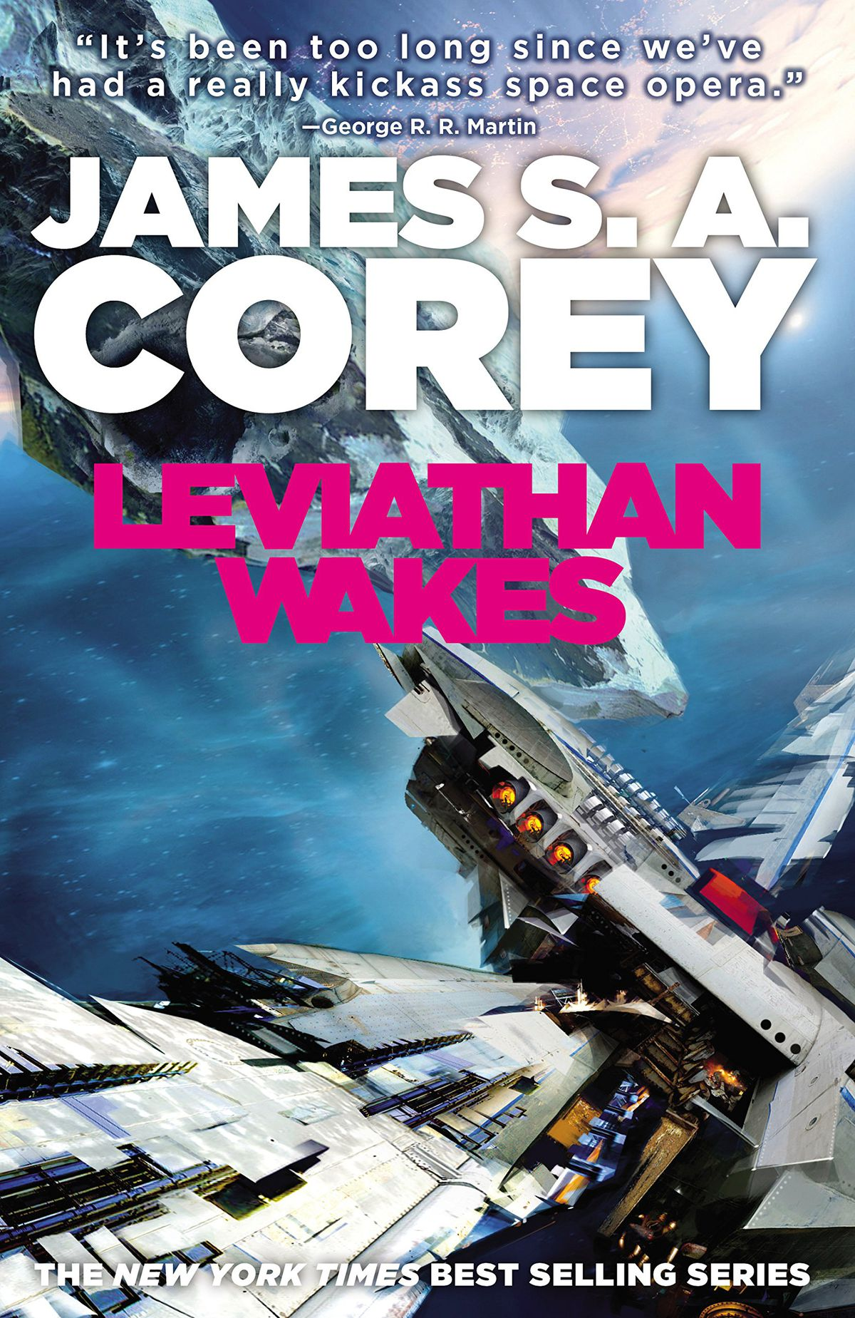 Leviathan Wakes by James S.A. Corey cover