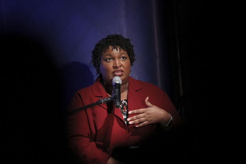Stacey Abrams Participates In A Discussion On Criminal Justice Reform At The New York Public Library