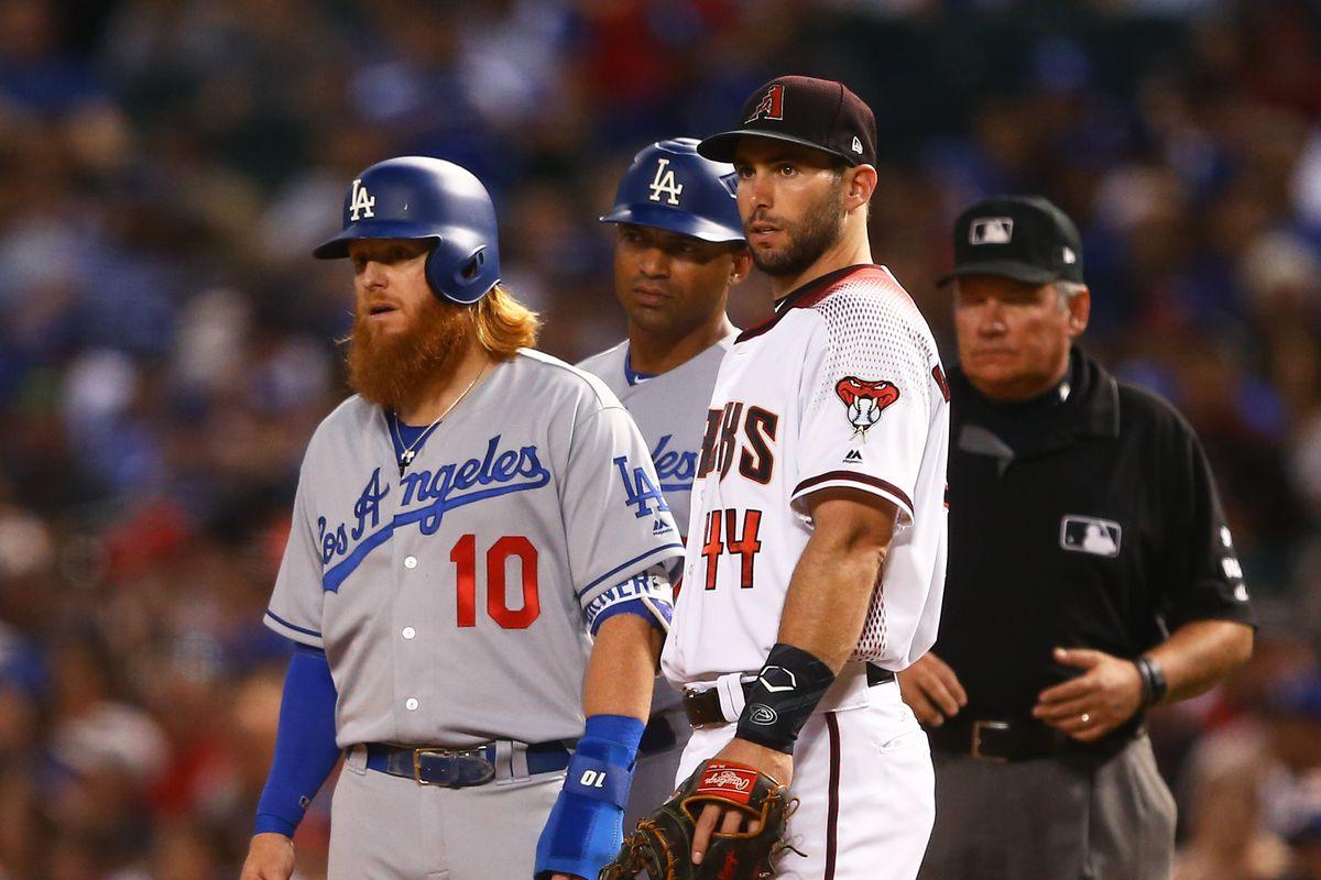 MLB: Los Angeles Dodgers at Arizona Diamondbacks