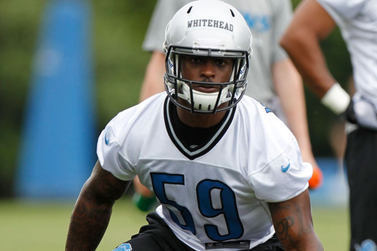 Tahir Whitehead was one of the players coached by Sean Desai, new Bears' defensive quality control coach.