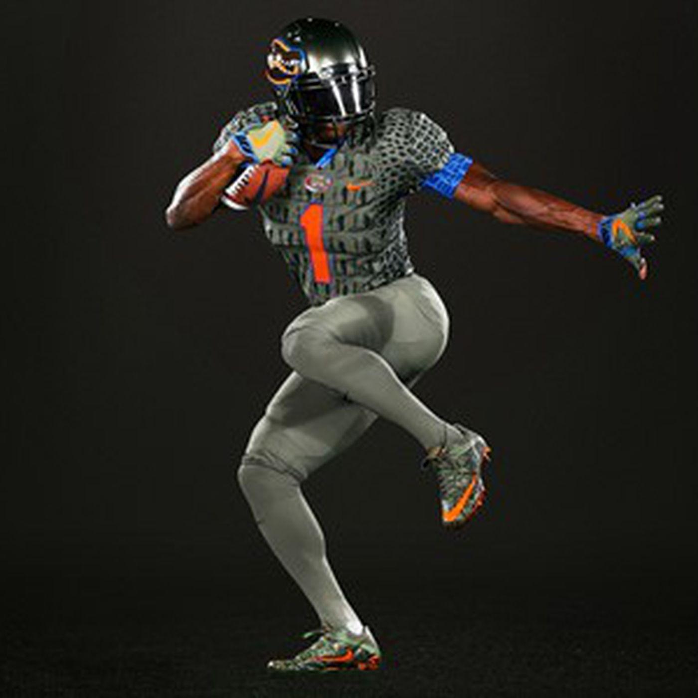 Florida To Wear Alternate Swamp Green Nike Uniforms Vs Texas A M Alligator Army