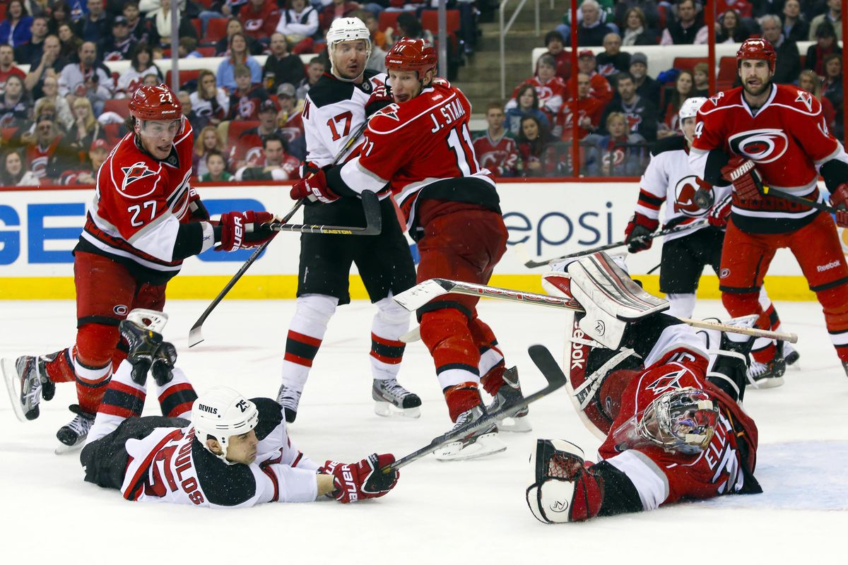 ae3620c05 New Jersey Devils at Carolina Hurricanes  Game 31 Preview - All ...