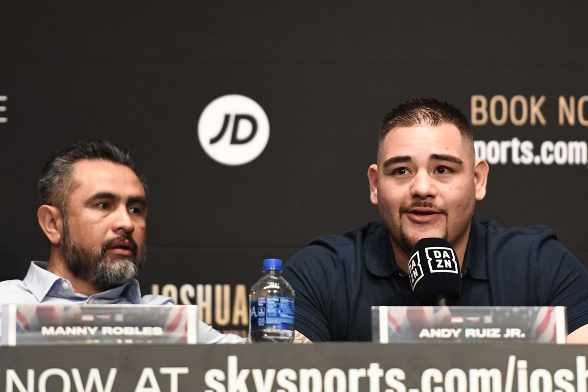 Manny Robles: Andy Ruiz not in great shape but we have enough time to get ready