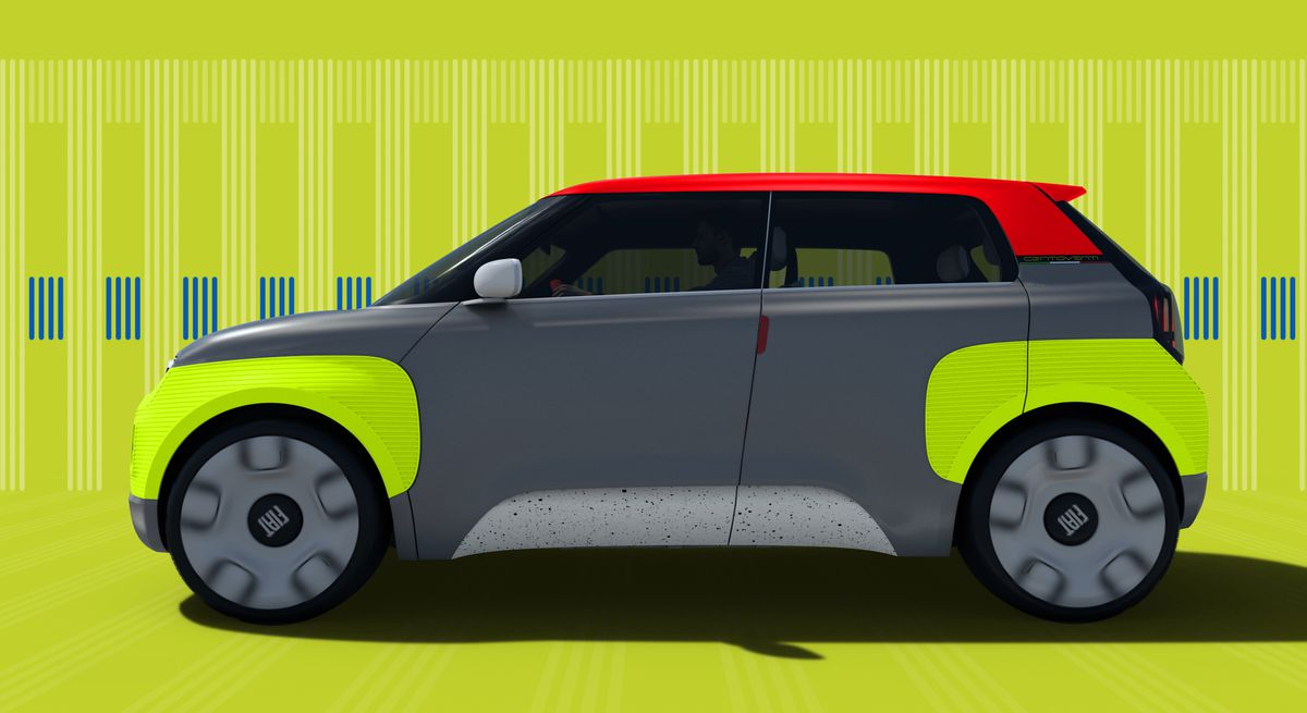 Fiat Electric Car >> Fiat S Newest Concept Is A Modular Electric Car You Can Almost