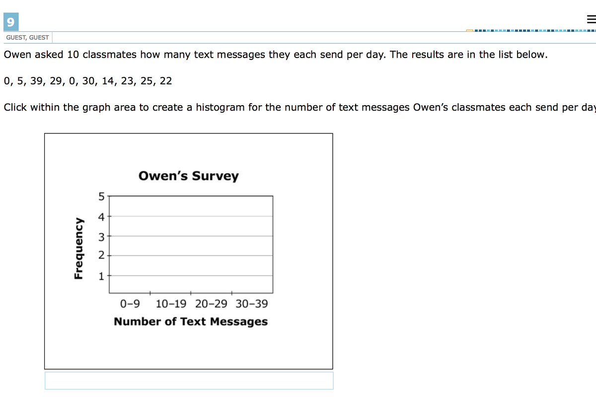 An example of a sixth-grade math question from Indiana's new ILEARN test.