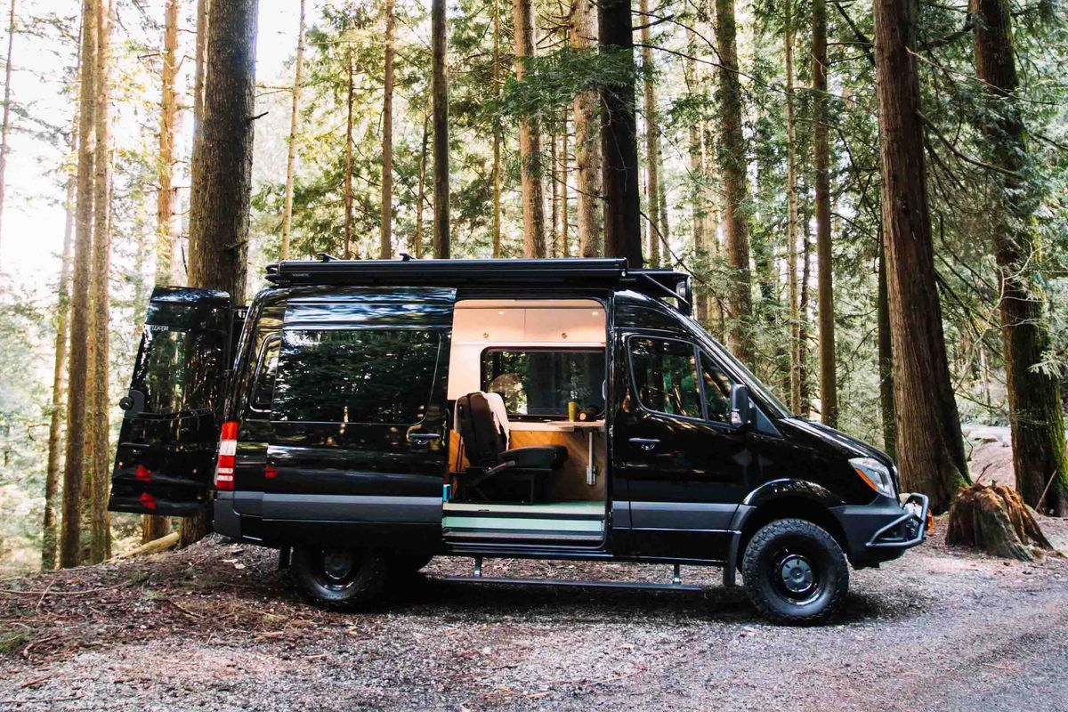 Camper van is a light and airy home-on-wheels - Curbed