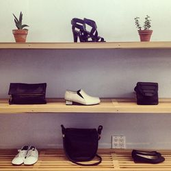 """<a href=""""http://www.instagram.com/spritual_america"""">@spiritual_america</a>: """"Complete your look in Noir & Blanc #bags #shoes #anniel #commonprojects #collinastrada #aandd #woodwood #clarevivier #sale"""""""