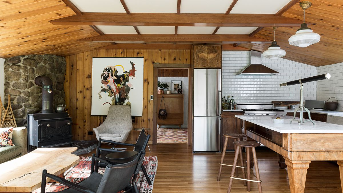 A Furniture Designer Turns An Ailing Midcentury Cabin Into