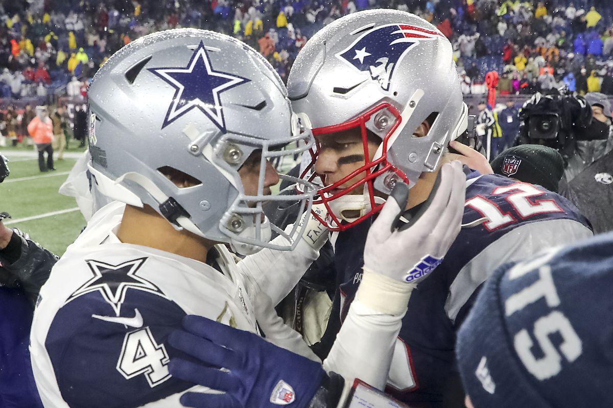 Dallas Cowboys Vs. New England Patriots At Gillette Stadium